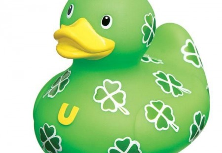 Patito de goma, Clover Patch
