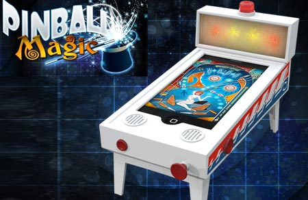 IPod/iPhone pinball magic