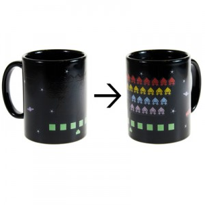 taza space invaders