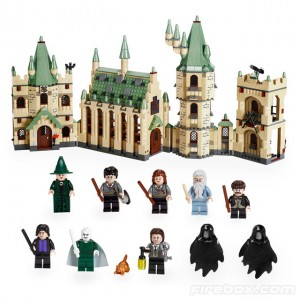 LEGO harry potter castillo hogwarts