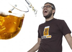 camiseta teddy beer