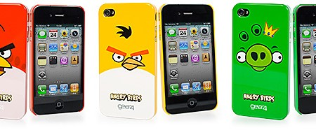 Fundas Angry Birds para iPhone 4