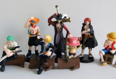 Pack figuras One Piece
