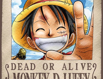 "Posters One Piece ""Se busca"""