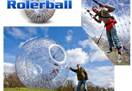Bola hinchable gigante Rollerball