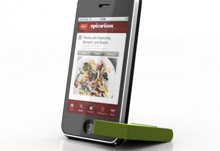 Soporte para iPhone MoviePeg