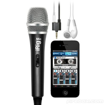regalos originales microfono para iphone iRig 1