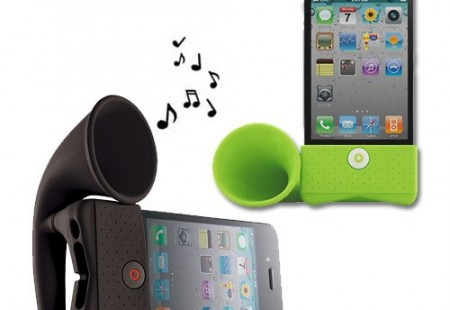 "Altavoz ""Horn"" para iPod o iPhone"
