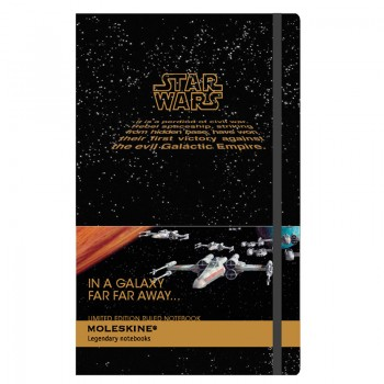 regalos originales moleskine star wars