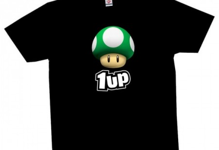Camiseta Seta Mario 1Up