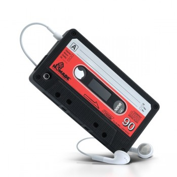 regalos originales funda cassette para iPhone 4 1