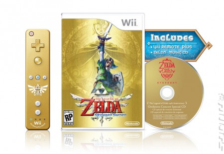 Legend of Zelda: Skyward Sword en Edición Limitada