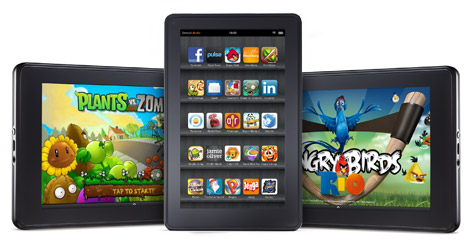amazon kindle fire juegos