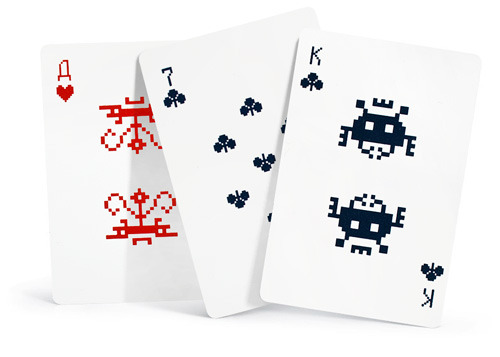 baraja space invaders