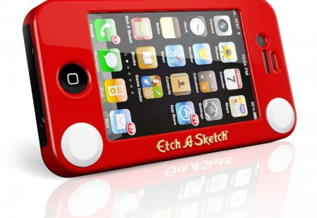 Funda Original para iPhone Etch a Sketch
