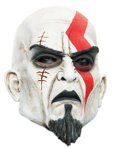 regalos originales mascara disfraz god of war kratos
