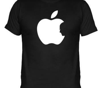 Camiseta Apple Tributo a Steve Jobs