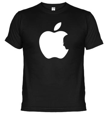 camiseta tributo a steve jobs