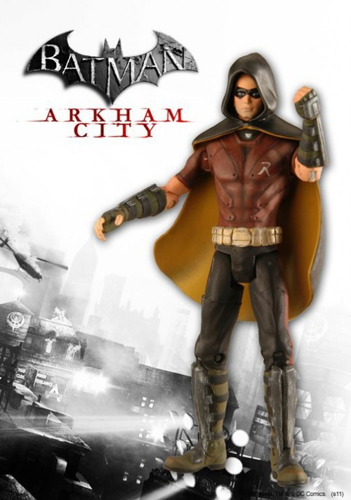 figura Robin Batman arkham city