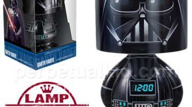 Lámpara Darth Vader con Reloj y MP3