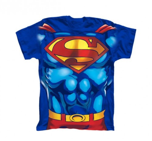 Camiseta Superman con Musculatura