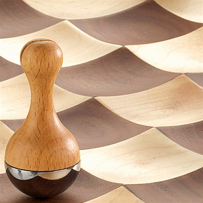 ajedrez original ondulado wooble chess