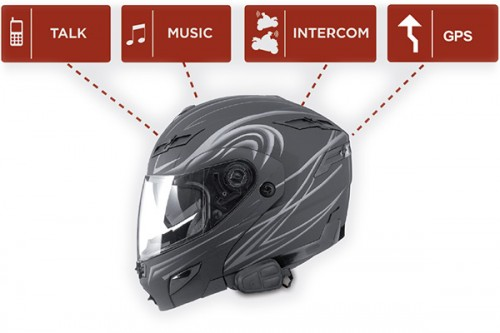 dispositivo bluetooth para cascos de moto