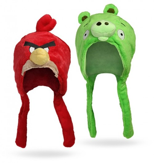 gorros peluches angry birds 1