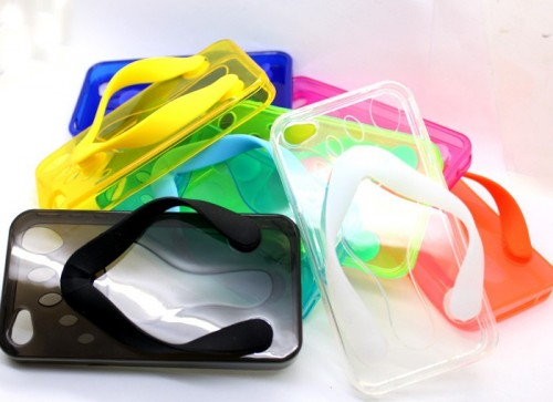 regalos originales flip flop funda iphone 4