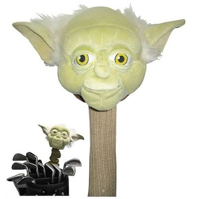 regalos originales funda para palos de golf de yoda star wars
