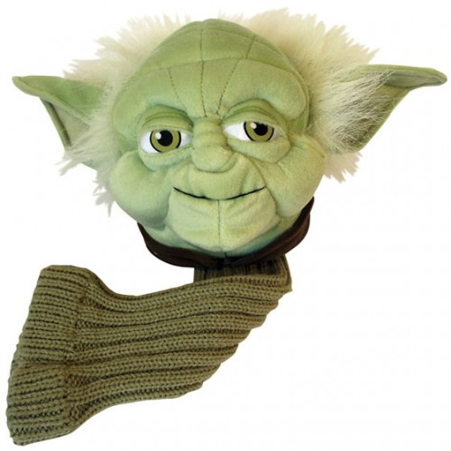 regalos originales funda para palos de golf star wars yoda