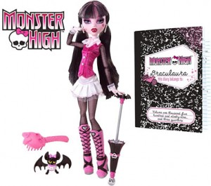 regalos originales muñeca dracularia monster high
