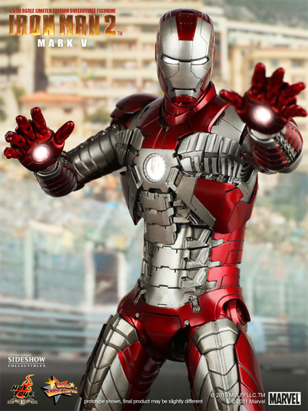 figura iron man 2 mark V 1