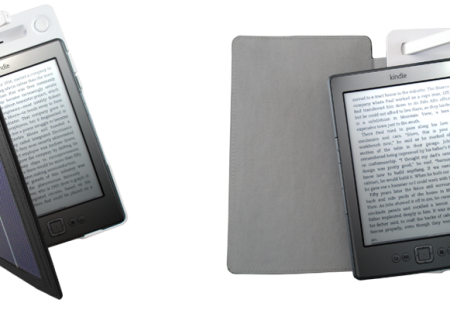Funda Solar para Kindle con Luz LED