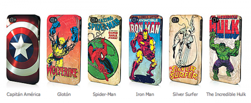 regalos originales carcasas para iphone originales marvel