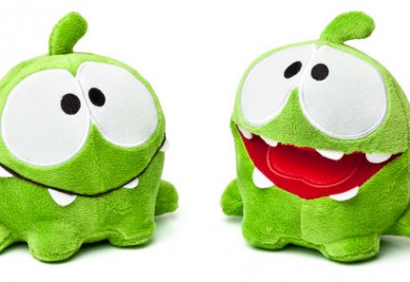 Peluche Om Nom del Juego Cut the Rope