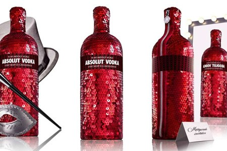 Botellas de vodka edición limitada: Absolut Masquerade