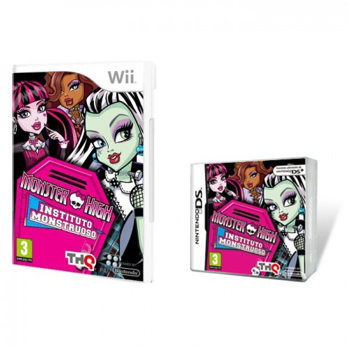 regalos originales monster high instituto monstruoso wii ds