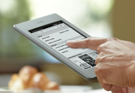Kindle Touch de Amazon ya en España