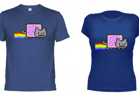 Camiseta de Nyan Cat