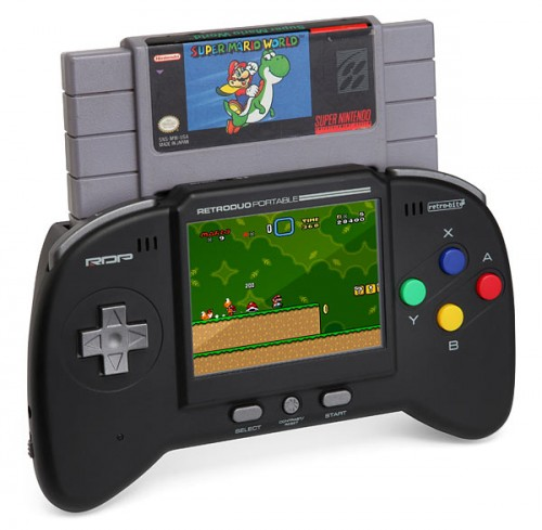 Consola-Retro-Duo-Portable-NES-SNES-regalos originales