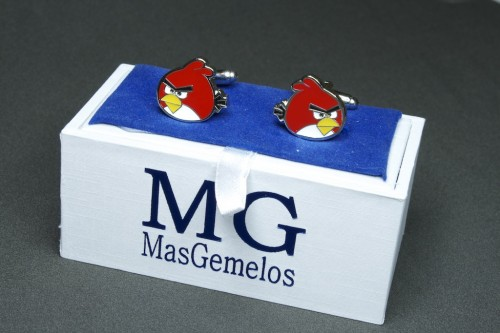 gemelos angry birds caja