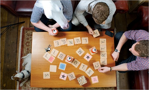 regalos originales posvasos scrabble