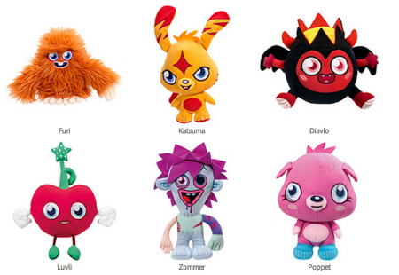 Peluches Parlantes de Moshi Monsters