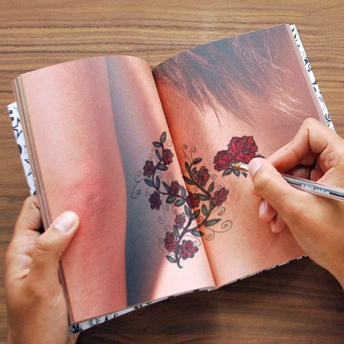 regalos originales tattoo notebook