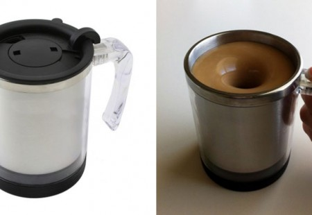 Self Stirring Mug: la Taza Batidora