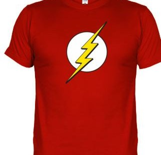 Camiseta Flash, The Big Bang Theory