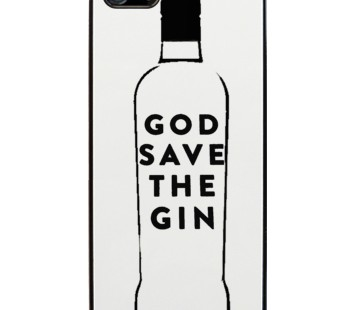 "Funda iPhone ""God save the gin"""