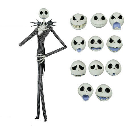 regalos originales jack skellington cabezas intercambiables