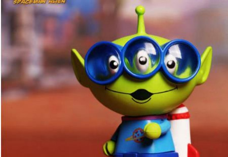 Figura Toy Story. Alien, 8cms. Serie 2 Cosbaby